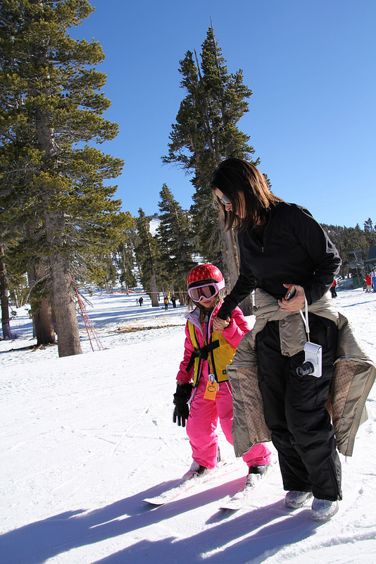 Family Ski Trip to Lake Tahoe -- MadreVida.com