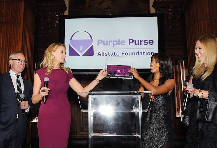 kerry washington presenting purplepurse